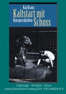 Werbeplakat Kai Kraus Kaltstart mit Schuss